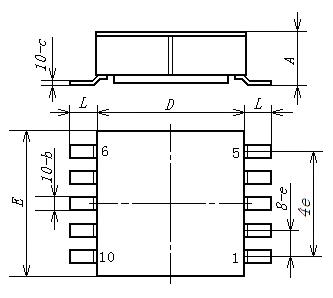 HSK5101 Package outline drawing
